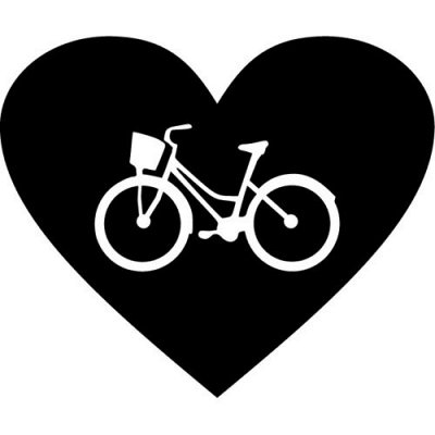 Огромный выбор классных наклеек для интерьера и авто — Для велосипедистов