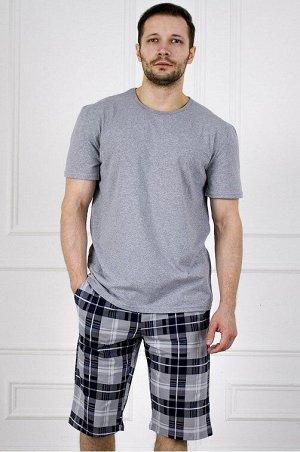 Костюм 987 влад серый (шорты)