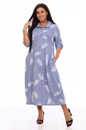 Платье женское Перо (хлопок 100%)