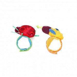 Браслеты Цена указана за 1 желтую и 1 красную коровку по одному браслету на обе руки