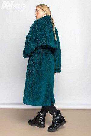 Пальто Последняя разработка конструкторов и дизайнеров компании Avenue to luxury. Классическое двубортное пальто-тренч прямого силуэта из эко-меха. Изделие с рукавами-реглан (Особый вид моделирования,