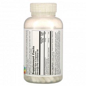 Solaray, цитрат кальция с витамином D3, 1000 мг, 240 капсул