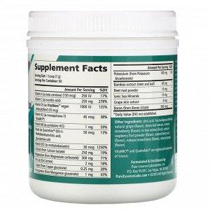Pure Essence, Ionic-Fizz, Super D-K Calcium Plus, смесь ягод, 420 г (14,82 унции)