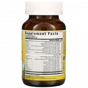 MegaFood, Комплекс витаминов и микроэлементов для женщин, 60 таблеток