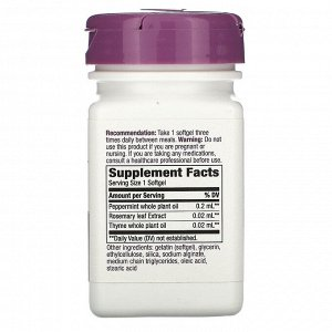 Nature&#x27 - s Way, Peppermint Soothe, 60 Softgels