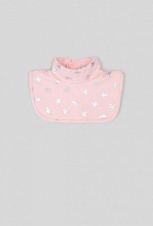 Воротник-манишка детская Sconse светло-розовый