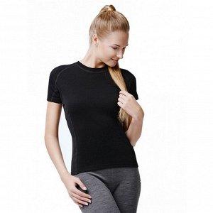 NORVEG Soft Футболка женская с коротким рукавом цвет черный
