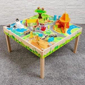 Игрушка из дерева «Стол с животными» 9х85х39,5 см
