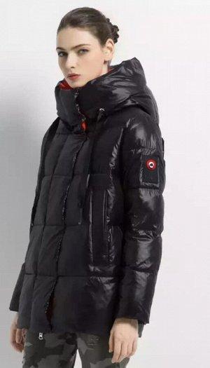 Куртка зимняя Black/Red