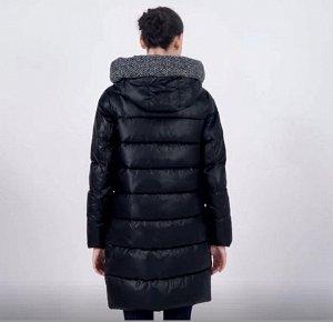 Куртка зимняя черная + ткань