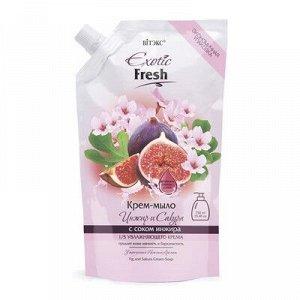 Biтэкс Exotic Fresh Juise Крем-мыло Инжир и Сакура 750мл дой-пак