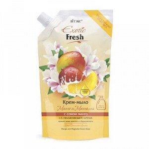 Biтэкс Exotic Fresh Juise Крем-мыло Манго и Магнолия 750мл дой-пак