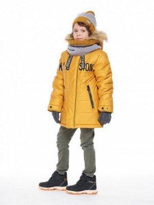 Куртка 4з2320 (горчичный,графит, т/синий)