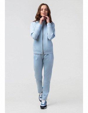Куртка спортивная женская (голубой)