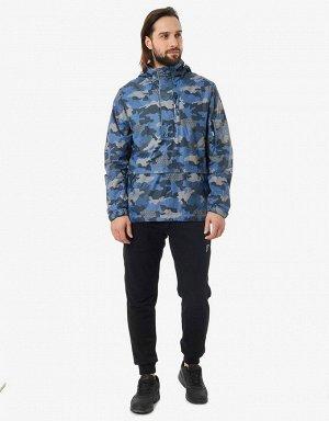 Куртка ветрозащитная мужская (синий)