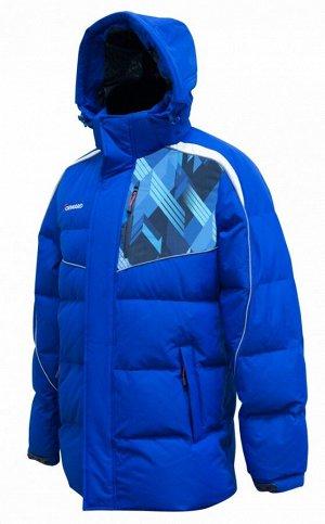 Куртка пуховая мужская (голубой/синий)