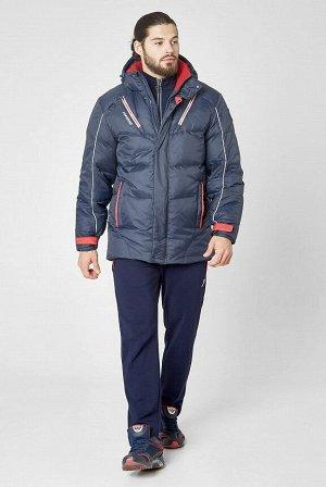 Куртка пуховая мужская (синий)