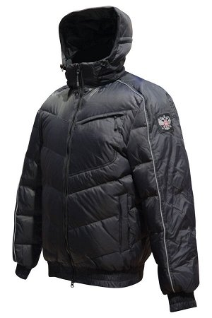 Куртка пуховая мужская (черный)