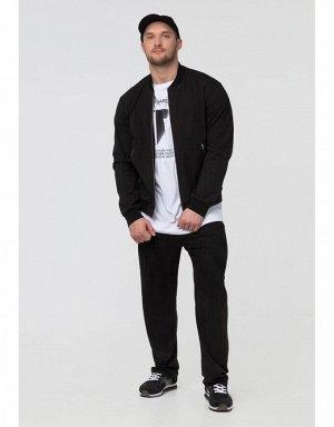 Куртка ветрозащитная мужская (черный/белый)
