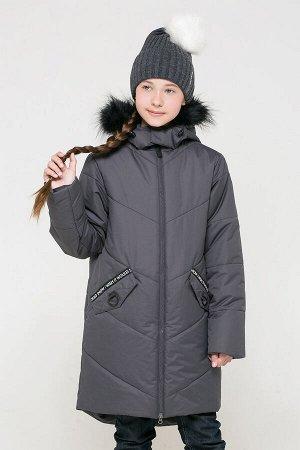 Пальто(Осень-Зима)+girls (темно-серый)