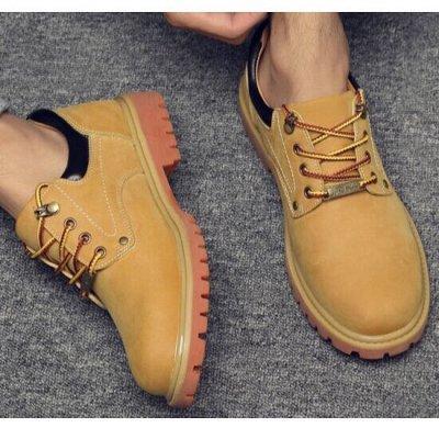 Удобная парочка. Обувь на все сезоны! Акция - низкая цена. — Мужские ботинки. — Низкие
