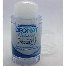 """204 Дезодорант-кристалл аммониевый без добавок в винтовой упаковке Deonat Tumtir """"Дождь"""", 80 гр"""