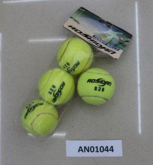 Мяч теннисный 1 шт. ,пак.
