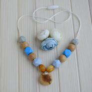 Слингобусы Серо-голубые
