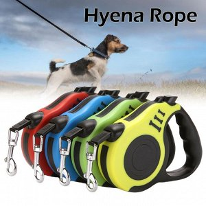 Поводок-рулетка для собак, цвет  в ассортименте