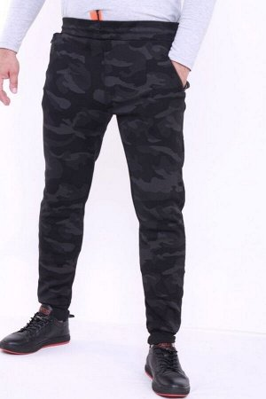 Спортивные брюки G902 зима черный