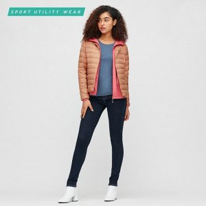 Ультралегкая пуховая компактная куртка, розовый