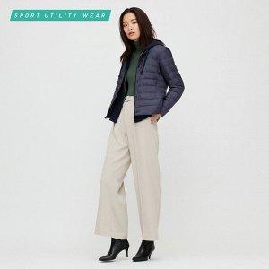 Ультралегкая пуховая компактная куртка, синий