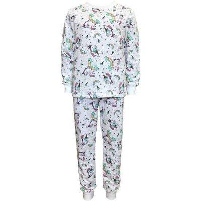 ИВАНОВО Марьяша 31 Мир принтов для взрослых и детей — Пижамы теплые для девочек — Для девочек