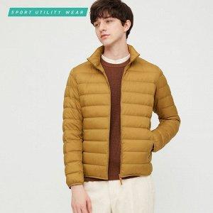 Ультралегкая пуховая компактная куртка,желтый