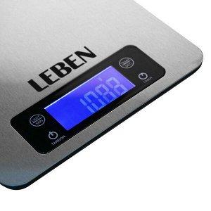 Весы кухонные электронные под рейлинг, до 5 кг