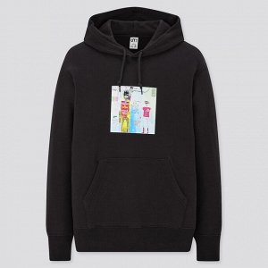 Парка Jean-Michel Basquiat x Warner Brothers Sweatpull,черный