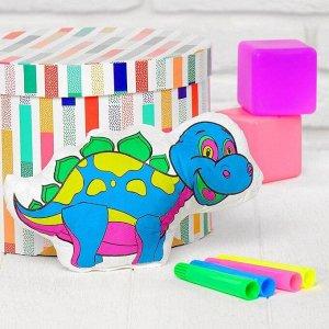 Игрушка-раскраска «Динозавр» (без маркеров) в пакете