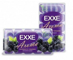 """Туалетное мыло EXXE AROMA """"Ежевика & глицерин"""", 5шт*70г  (фиолетовое) ЭКОПАК"""