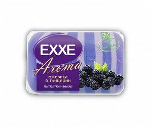 """Туалетное мыло EXXE AROMA """"Ежевика & глицерин"""", 1шт*80г (фиолетовое) Штучное"""