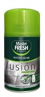 Мастер Фреш MFRAF-AT освежитель воздуха сменный баллон для авт спрея Антитабак 250 мл