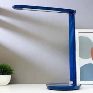 Лампа настольная сенсорная 16096/1BL 36xLED 4Вт 6000К синий 33х17х39 см