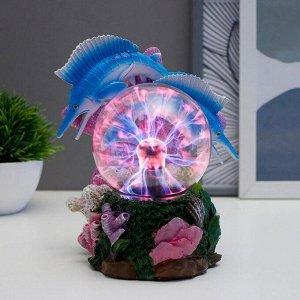"Плазменный шар ""Рыбки"" 17.5х14х19 см"