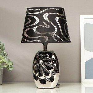 "Лампа настольная абажур ""Цветущий пион"" МИКС Е14 31,5х20х14,5 см"