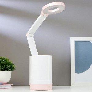 Лампа настольная сенсорная 16100/1 LED 4,5Вт USB АКБ 3 режима Микс 10х9х45,5 см