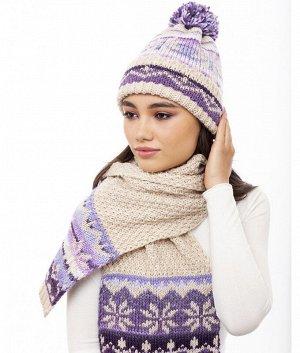 XM 19 XS 19 флис (колпак+шарф) Комплект