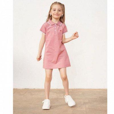 100% Хлопок! Уютный трикотаж для всей семьи!  — Платье короткий рукав — Платья и сарафаны
