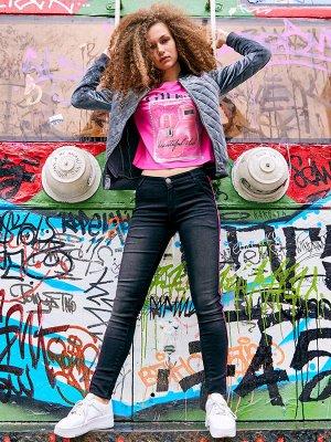 Брюки джинсовые д/дев Juno  Street Chic/CRAZY GETUP by Juno