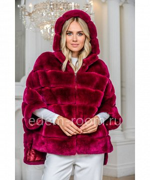 Куртка на молнии из кроликаАртикул: 525-1-2-70-BR-KR