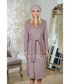 Удлинённое пальто из шерстиАртикул: V-353-120-P