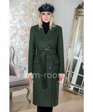 Современное пальто из элитной коллекцииАртикул: L-0167-110-ZL